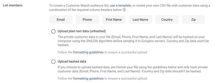 谷歌将客户匹配扩展到显示网络