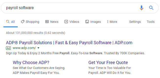 copywriting-tips-payroll-software-text-ad-example