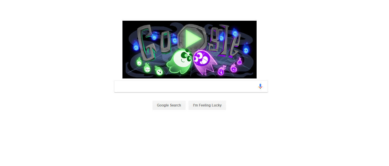 Google Homepage Current