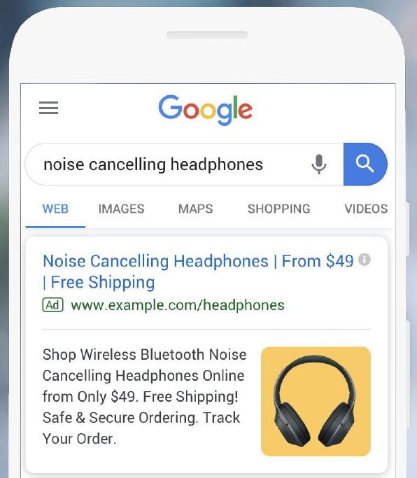 Google image ad extensions
