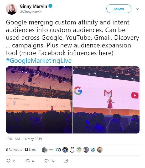 google-marketing-live-custom-audiences-reaction