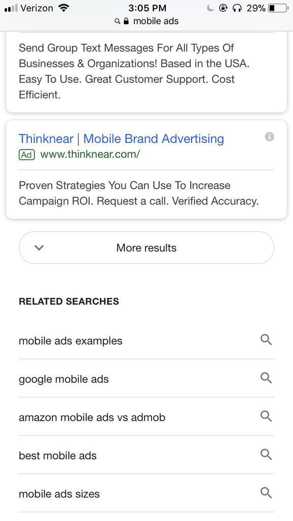 Biggest Online Advertising Stories 2018 SERP