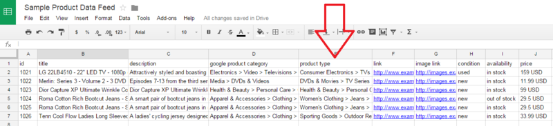google-shopping-feed-sample