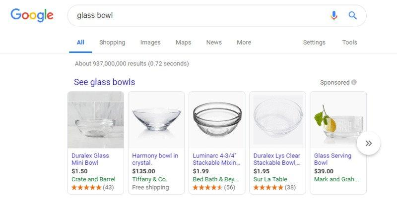 google-shopping-feed-product-results