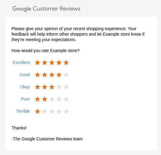 Google shopping reviews customer reviews