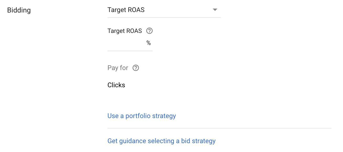 google-sunsets-average-position-target-roas-automated-bidding-strategy