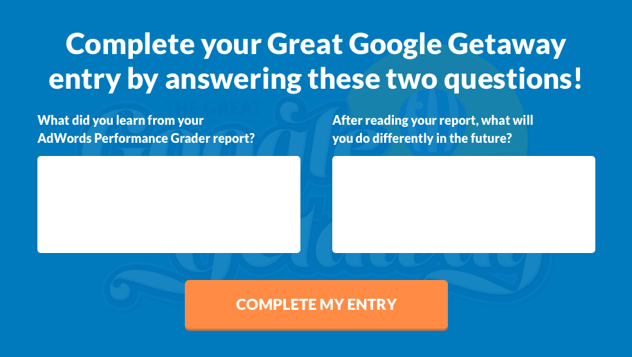 Great Google Getaway Questions