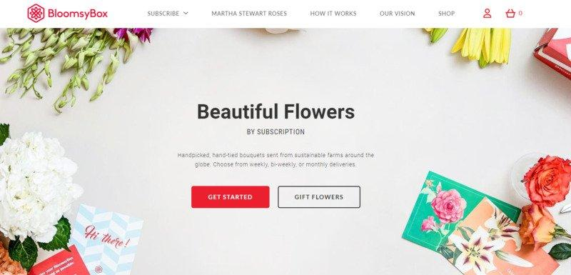 great-landing-pages-bloomsy-box-example