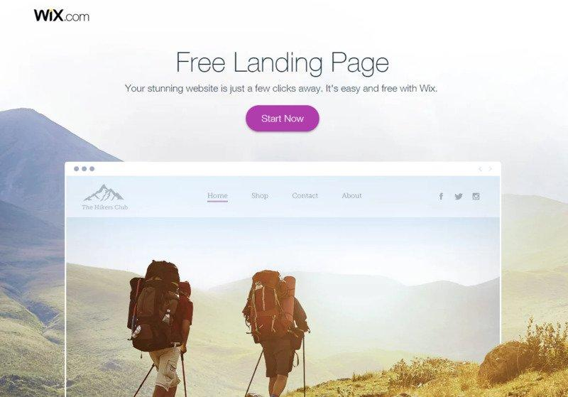 great-landing-pages-wix-example
