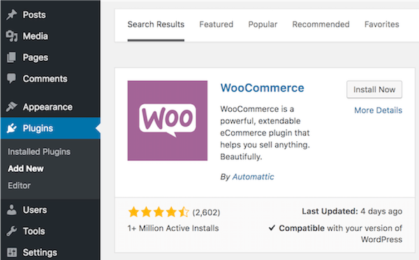 how to build an ecommerce website woocommerce