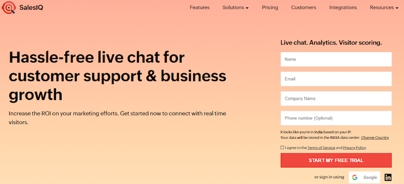 how to build the ideal chatbot chatbot tools salesiq