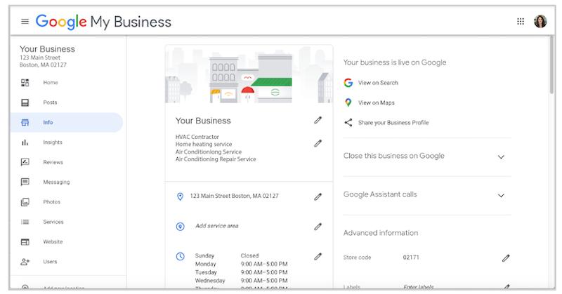 如何创建和验证您的 Google My Business账户?