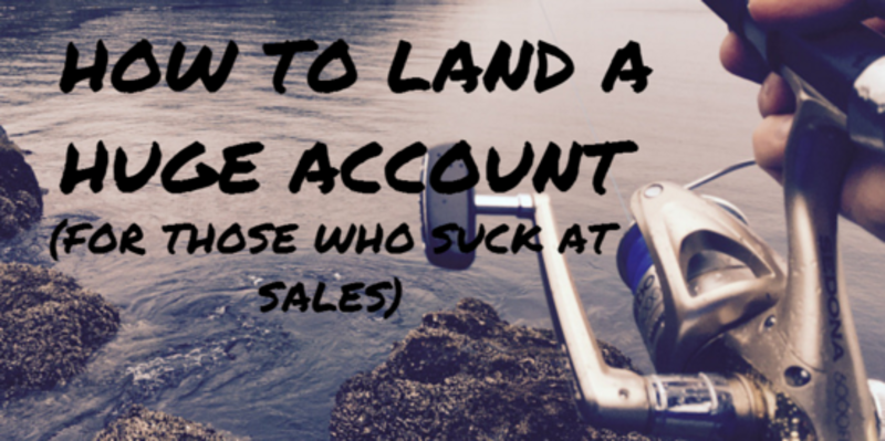 title how to land a big account