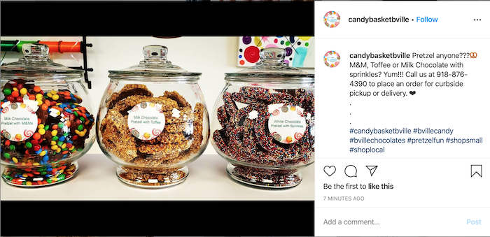 how to reach your audience online during COVID instagram caption