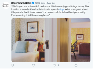 how to reach your audience online during COVID roger smith hotel