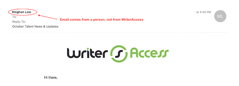 كيف تكتب رسائل البريد الإلكتروني الترويجية مثال بريد إلكتروني ترويجي ترسل من شخص