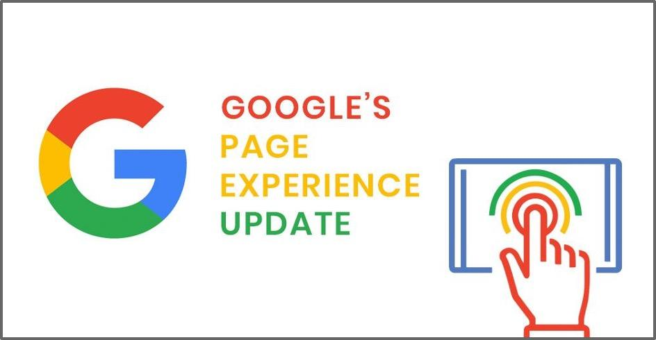 how to use google search console google page experience update graphic