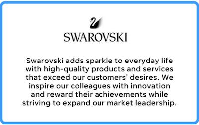swarovski's business mission statement
