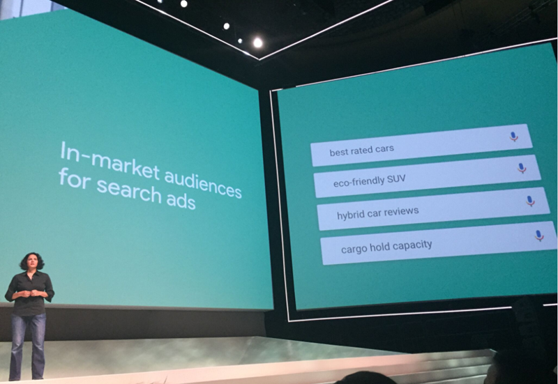 bing in market audiences for search ads