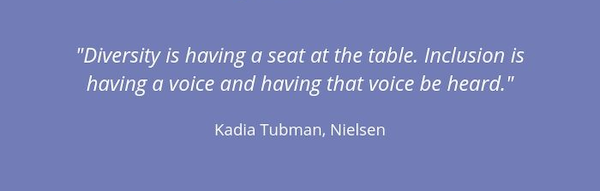 inclusion and diversity in marketing—kadia-tubman-quote