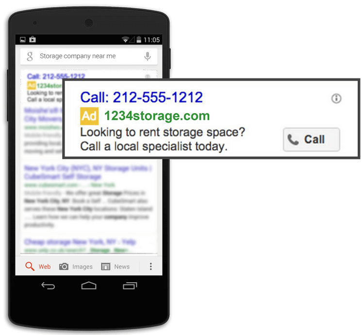 how to increase sales online call only google ads on mobile