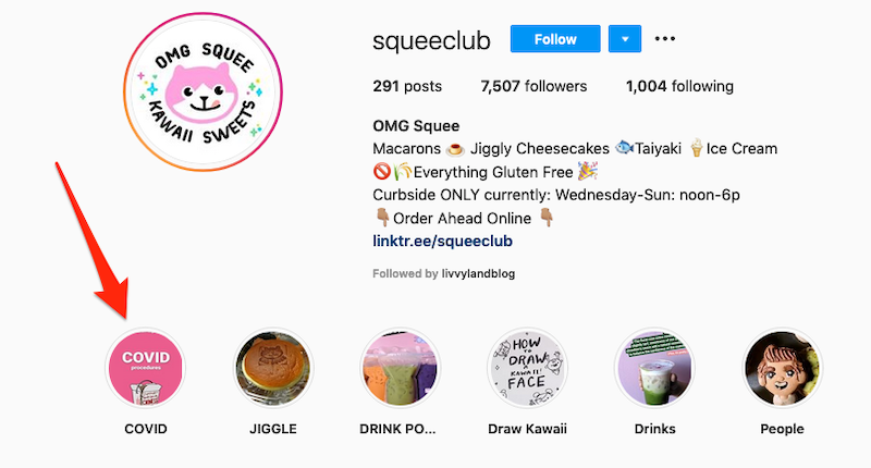 inspiring instagram accounts to follow now covid Restaurant squee