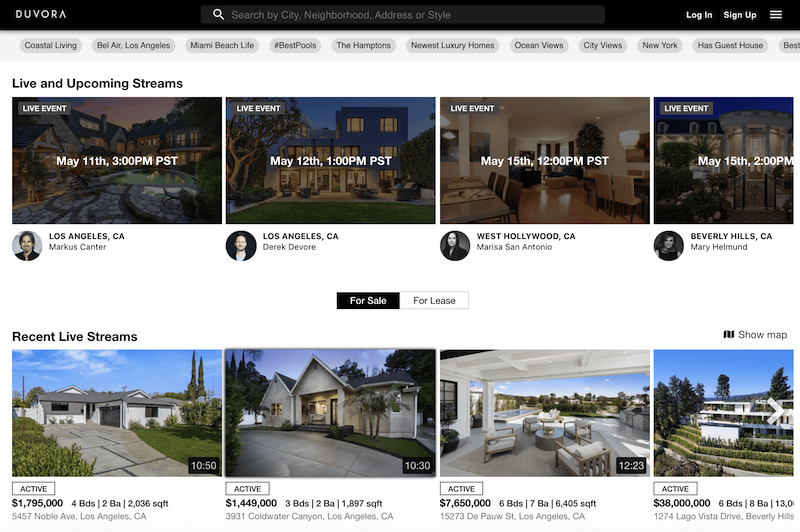 inspiring post-covid marketing ideas live video for real estate tours