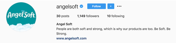instagram bios angelsoft