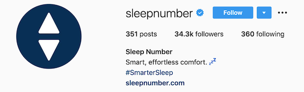 instagram bios sleep number
