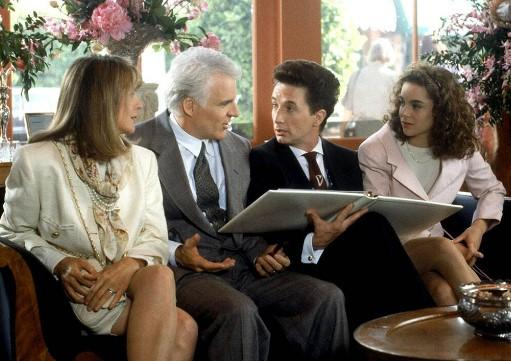 wedding plan scene from The Father of the Bride