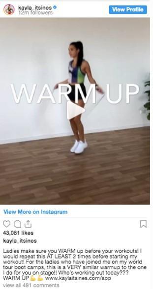 Example video Instagram carousel ad