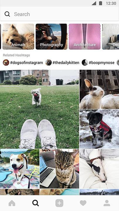 instagram community explore feature