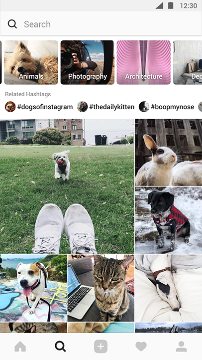 instagram community explore feature