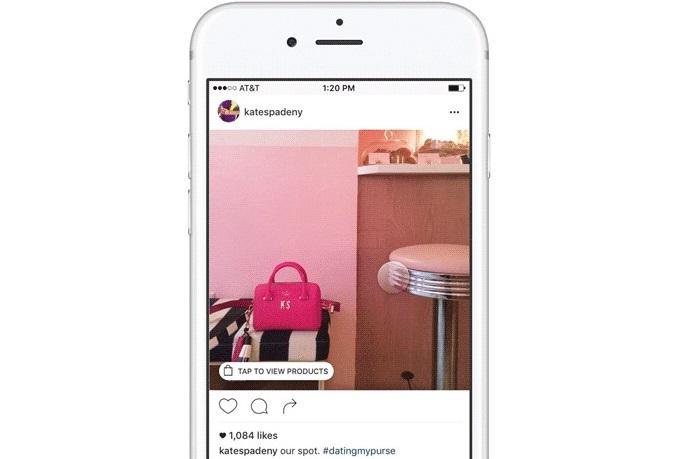 Instagram ecommerce image