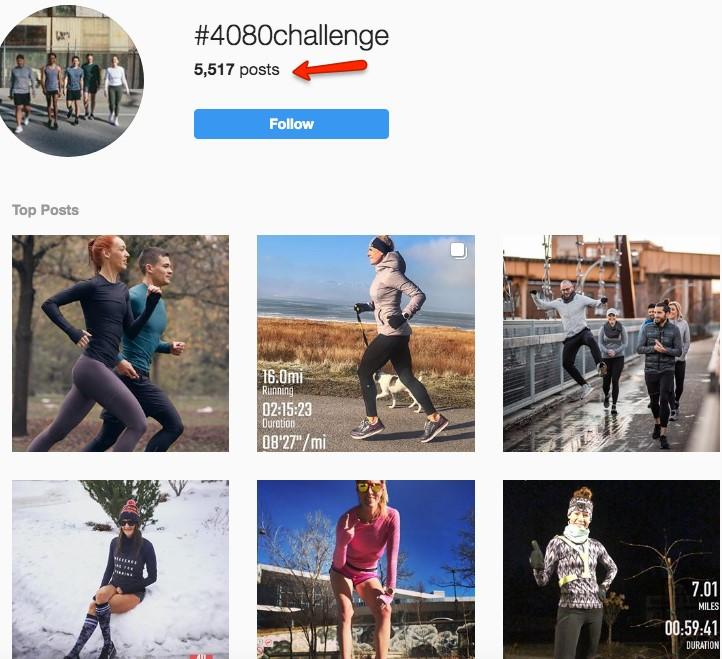 instagram hashtag search resutls for #4080