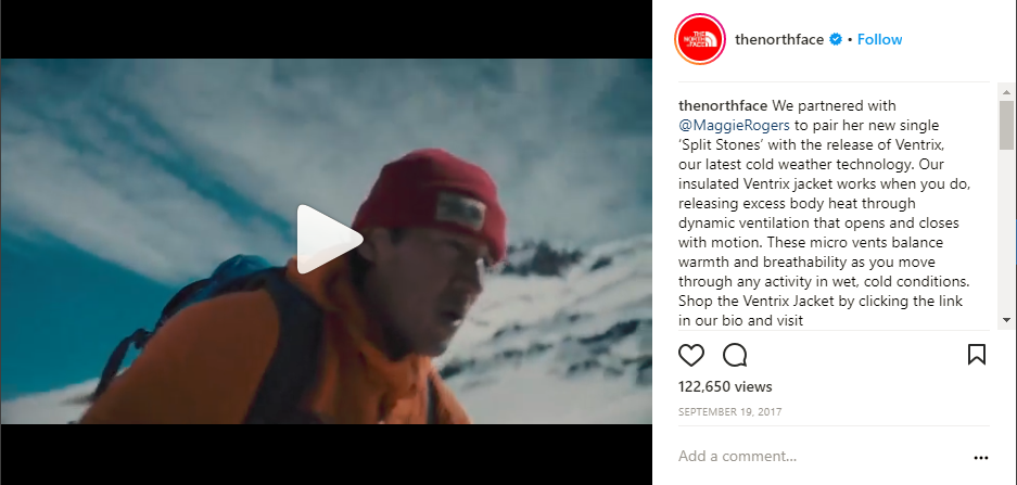Instagram Videos North Face
