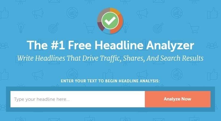 interactive content example: CoSchedule Headline Analyzer