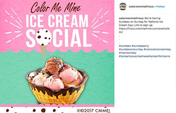 july marketing ideas ice cream social invite