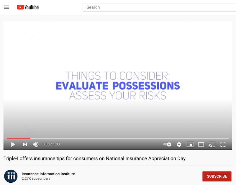 june marketing ideas insurance awareness day video idea