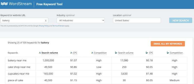 keyword research guide wordstream free keyword tool