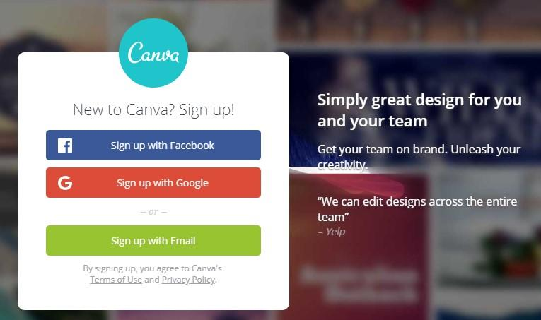 lead capture form canva