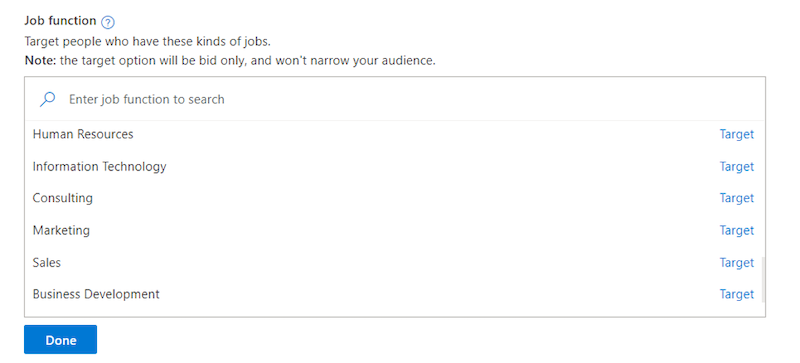 linked-in-audiences-microsoft-ads-job-function