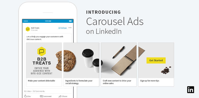 general linkedin carousel ads