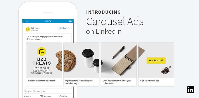 Linkedin Carousel Ads Have Arrived