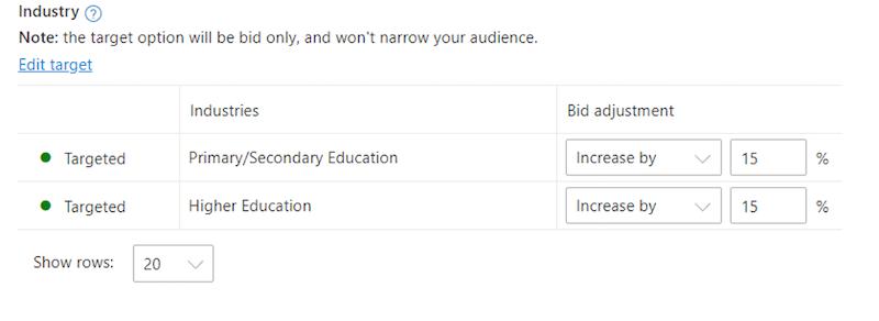 linkedin-audiences-microsoft-ads-bid-adjustments