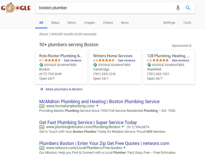 Image result for local service ads