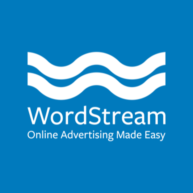 WordStream logo with tagline