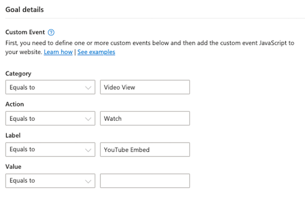 microsoft ads event tracking—custom events from GTM
