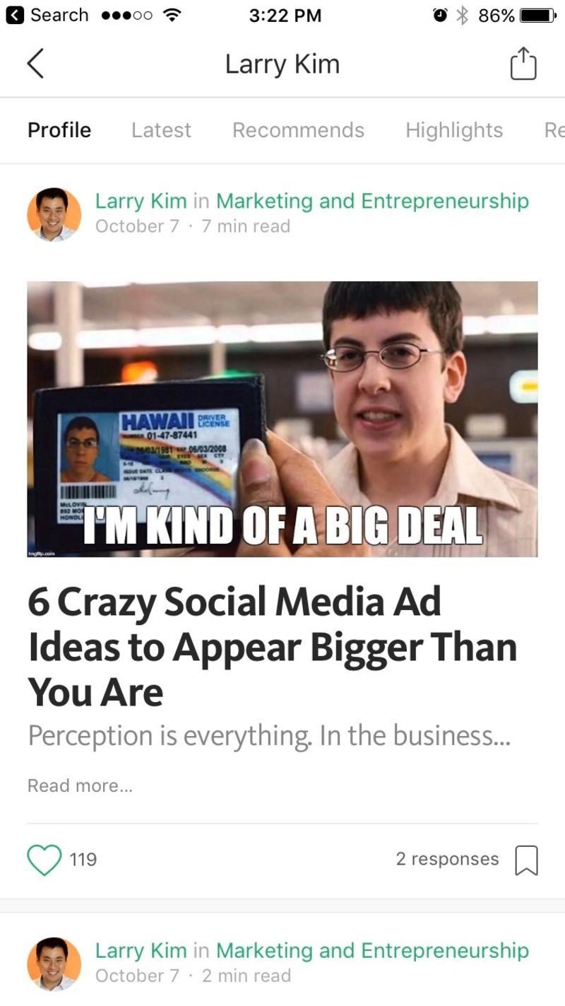 medium mobile marketing tools