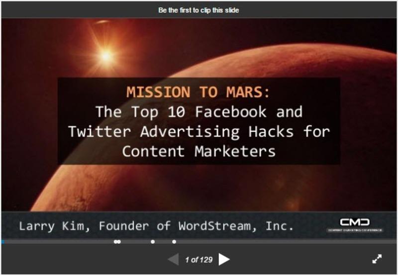 slideshare mobile marketing tools